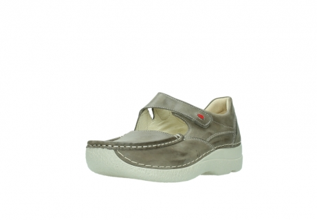 wolky bandschoenen 06247 roll fever 30150 taupe leer_22