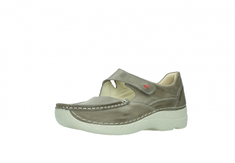 wolky bandschoenen 06247 roll fever 30150 taupe leer_23