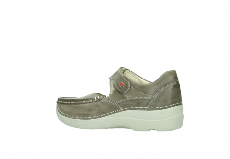 wolky bandschoenen 06247 roll fever 30150 taupe leer_3