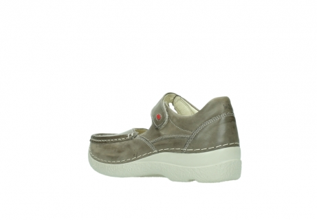 wolky bandschoenen 06247 roll fever 30150 taupe leer_4
