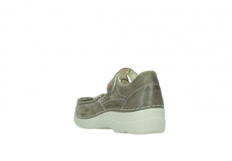 wolky bandschoenen 06247 roll fever 30150 taupe leer_5