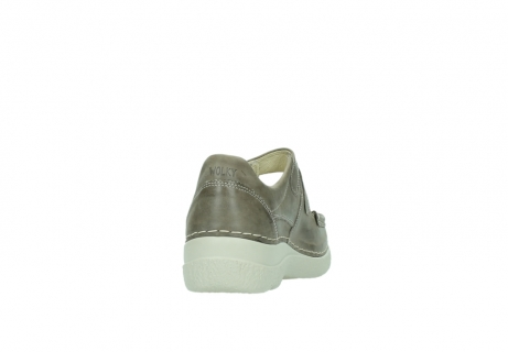 wolky bandschoenen 06247 roll fever 30150 taupe leer_8
