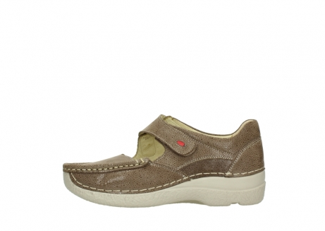 wolky mary janes 06247 roll fever 90150 taupe dots nubuck_1