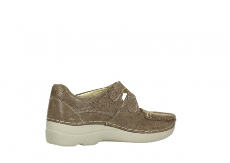 wolky riemchenschuhe 06247 roll fever 90150 taupe dots nubuck_11
