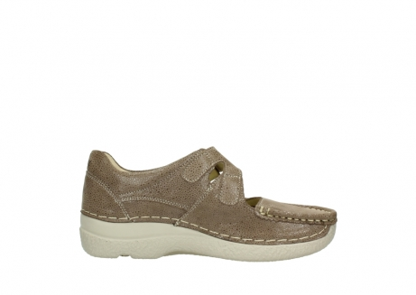 wolky riemchenschuhe 06247 roll fever 90150 taupe dots nubuck_13