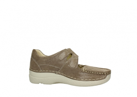 wolky bandschoenen 06247 roll fever 90150 taupe dots nubuck_14