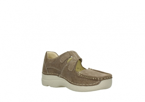 wolky riemchenschuhe 06247 roll fever 90150 taupe dots nubuck_16