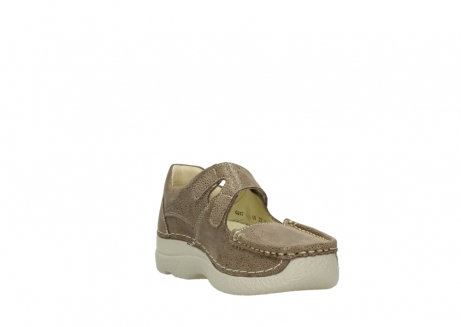 wolky riemchenschuhe 06247 roll fever 90150 taupe dots nubuck_17