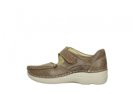 wolky mary janes 06247 roll fever 90150 taupe dots nubuck_2