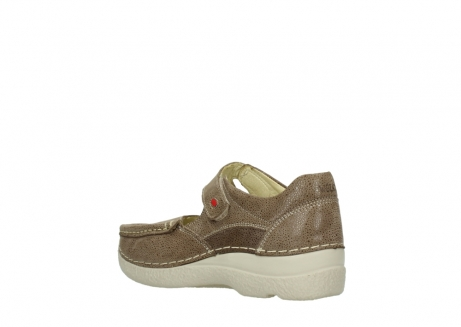wolky riemchenschuhe 06247 roll fever 90150 taupe dots nubuck_4