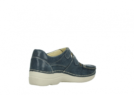 wolky mary janes 06247 roll fever 90820 denim blue dots nubuck_10
