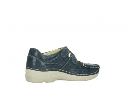 wolky mary janes 06247 roll fever 90820 denim blue dots nubuck_11