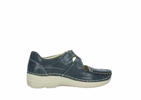 wolky mary janes 06247 roll fever 90820 denim blue dots nubuck_12