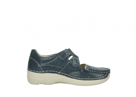 wolky mary janes 06247 roll fever 90820 denim blue dots nubuck_13