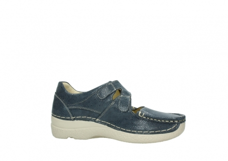 wolky mary janes 06247 roll fever 90820 denim blue dots nubuck_14