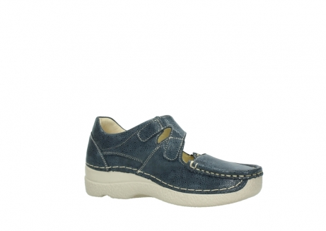 wolky mary janes 06247 roll fever 90820 denim blue dots nubuck_15