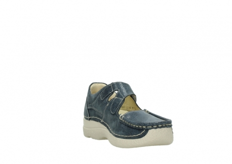 wolky mary janes 06247 roll fever 90820 denim blue dots nubuck_17