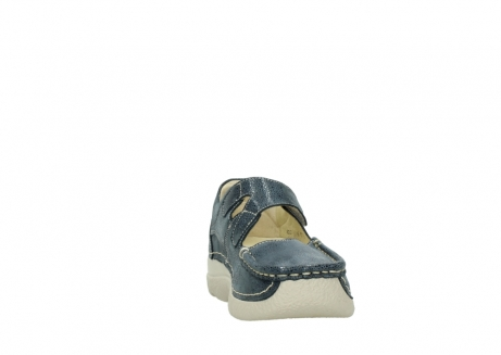 wolky mary janes 06247 roll fever 90820 denim blue dots nubuck_18