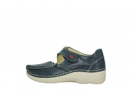 wolky mary janes 06247 roll fever 90820 denim blue dots nubuck_2