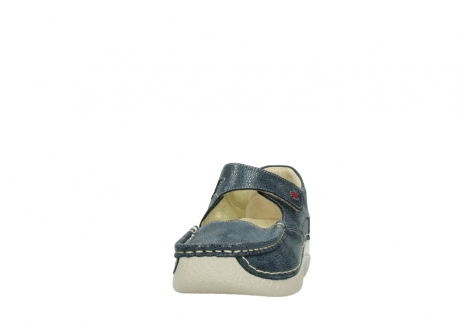 wolky mary janes 06247 roll fever 90820 denim blue dots nubuck_20