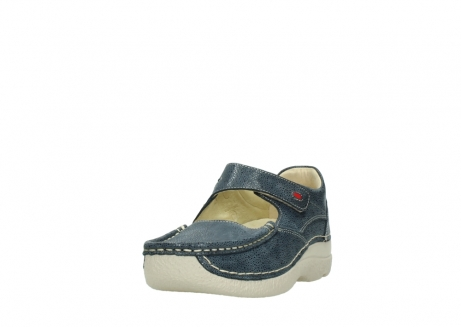 wolky mary janes 06247 roll fever 90820 denim blue dots nubuck_21