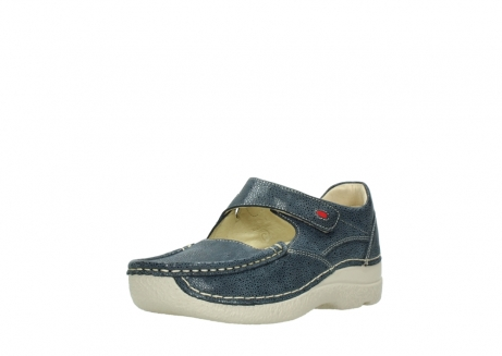 wolky mary janes 06247 roll fever 90820 denim blue dots nubuck_22