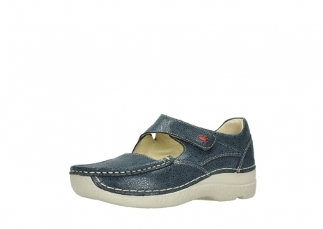 wolky mary janes 06247 roll fever 90820 denim blue dots nubuck_23