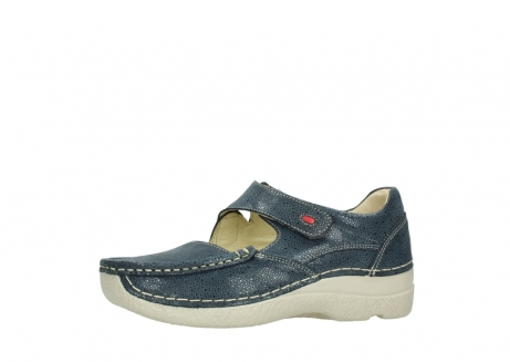 wolky mary janes 06247 roll fever 90820 denim blue dots nubuck_24