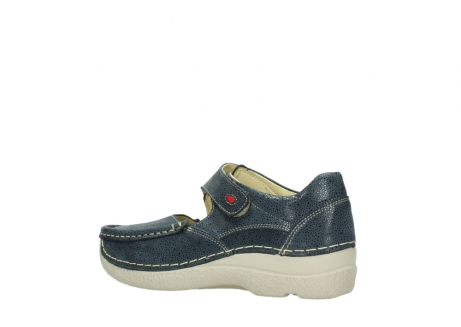 wolky mary janes 06247 roll fever 90820 denim blue dots nubuck_3