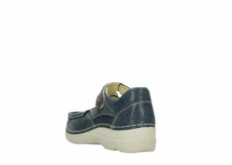 wolky mary janes 06247 roll fever 90820 denim blue dots nubuck_5