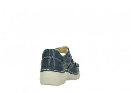 wolky mary janes 06247 roll fever 90820 denim blue dots nubuck_8