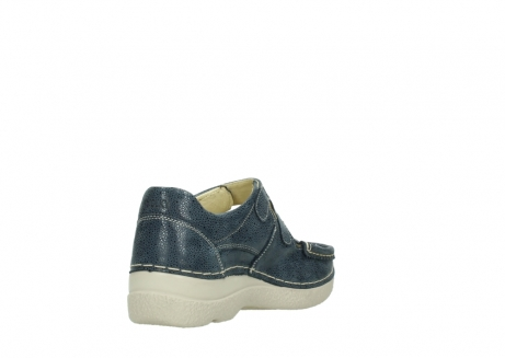 wolky mary janes 06247 roll fever 90820 denim blue dots nubuck_9