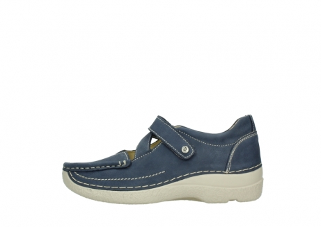 wolky bandschoenen 06291 seamy cross 10820 denim blauw nubuck_1