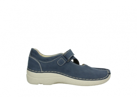 wolky bandschoenen 06291 seamy cross 10820 denim blauw nubuck_13