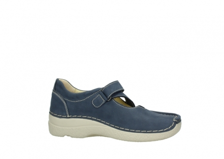 wolky bandschoenen 06291 seamy cross 10820 denim blauw nubuck_14