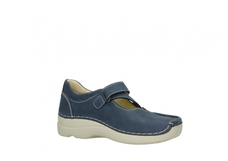 wolky bandschoenen 06291 seamy cross 10820 denim blauw nubuck_15