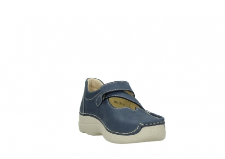 wolky bandschoenen 06291 seamy cross 10820 denim blauw nubuck_17