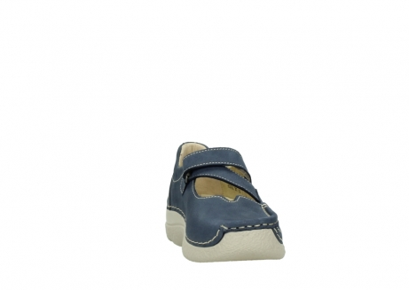 wolky bandschoenen 06291 seamy cross 10820 denim blauw nubuck_18