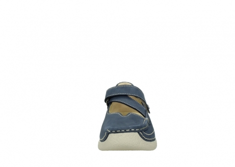 wolky bandschoenen 06291 seamy cross 10820 denim blauw nubuck_19