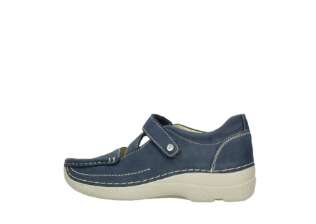 wolky bandschoenen 06291 seamy cross 10820 denim blauw nubuck_2
