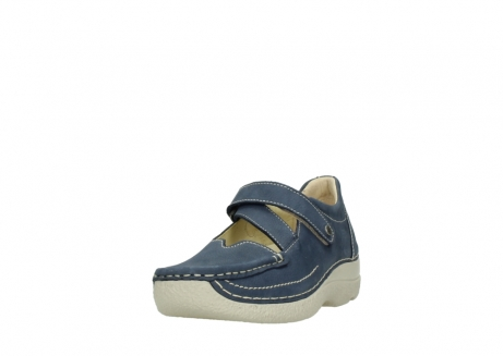 wolky bandschoenen 06291 seamy cross 10820 denim blauw nubuck_21