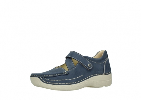 wolky bandschoenen 06291 seamy cross 10820 denim blauw nubuck_23