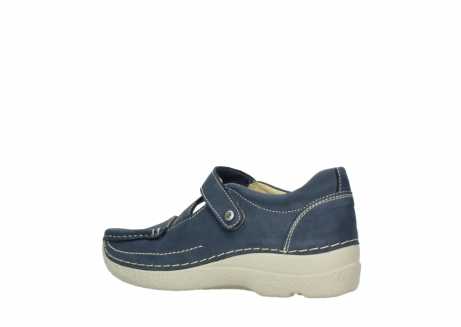 wolky bandschoenen 06291 seamy cross 10820 denim blauw nubuck_3
