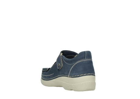 wolky bandschoenen 06291 seamy cross 10820 denim blauw nubuck_5
