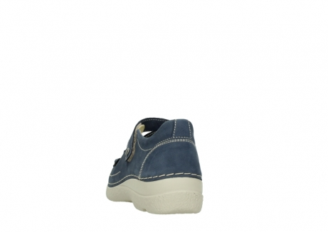 wolky bandschoenen 06291 seamy cross 10820 denim blauw nubuck_6