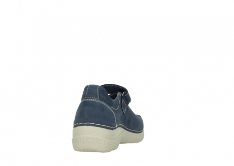 wolky bandschoenen 06291 seamy cross 10820 denim blauw nubuck_8