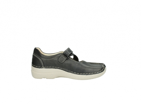 wolky bandschoenen 06291 seamy cross 80210 antraciet leer_13