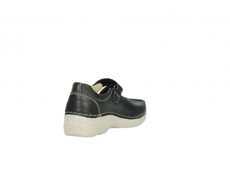 wolky bandschoenen 06291 seamy cross 80210 antraciet leer_9