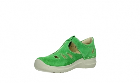 wolky mary janes 06605 smiley 40740 applegreen suede_10
