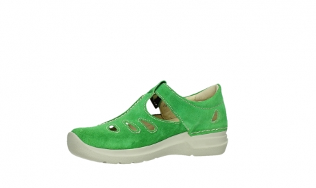wolky mary janes 06605 smiley 40740 applegreen suede_11